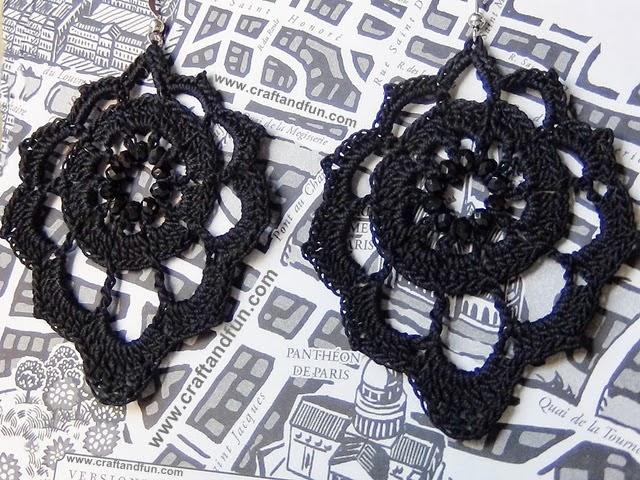 Punto Crochet All Uncinetto.Riciclo Creativo Craft And Fun Orecchini Fai Da Te All