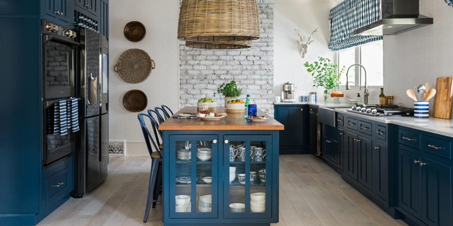 Niebieskie szaleństwo - metamorfoza całego domu, wystrój wnętrz, wnętrza, urządzanie mieszkania, dom, home decor, dekoracje, aranżacje, niebieski, blue, before and after