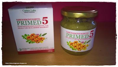 Nahrungsergänzungsmittel Primed 5