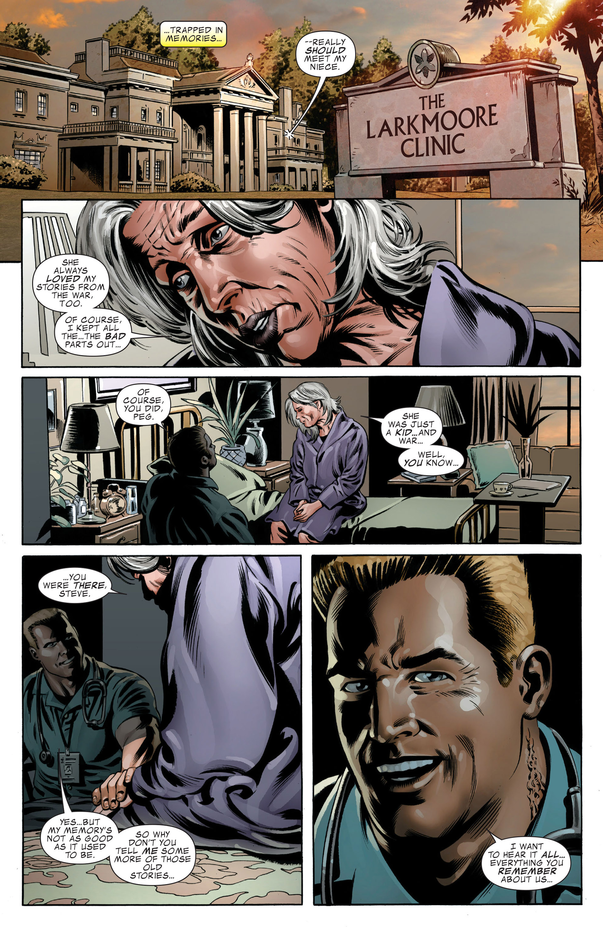 Read online Captain America (2005) comic -  Issue #49 - 21