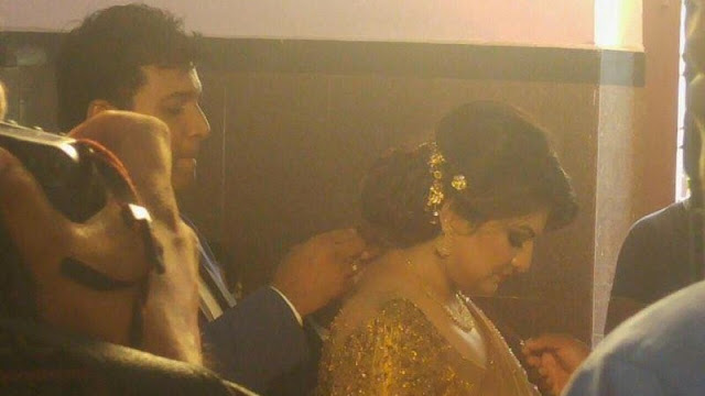 Actress Producer Sandra Thomas Wedding Photos Marriage Photos