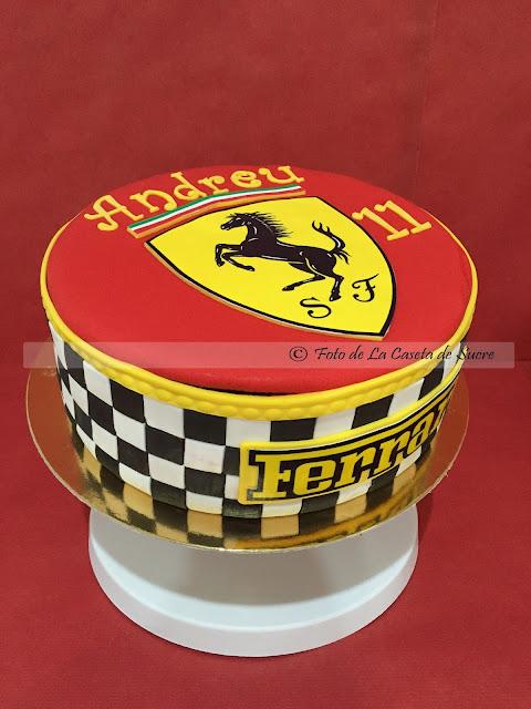 tarta Ferrari cake 1