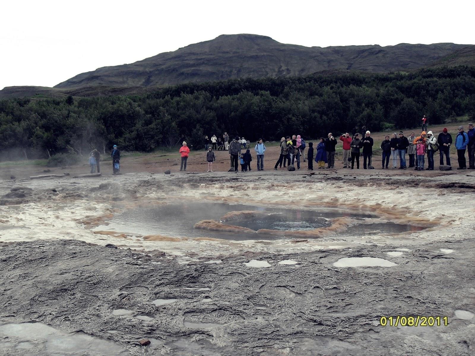 gejzer, islandzki gejzer, geysir, atrakcje Islandii, golden circle
