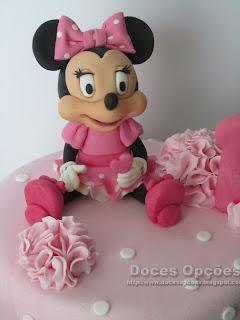 disney minnie sugarpaste cake