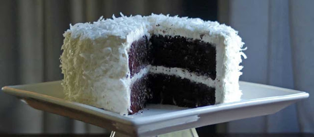 How to Make Chocolate Covered Coconut Cake