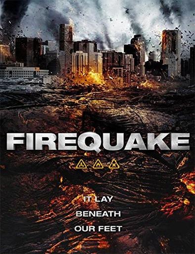 Ver Terremoto en el fuego (2014) Online