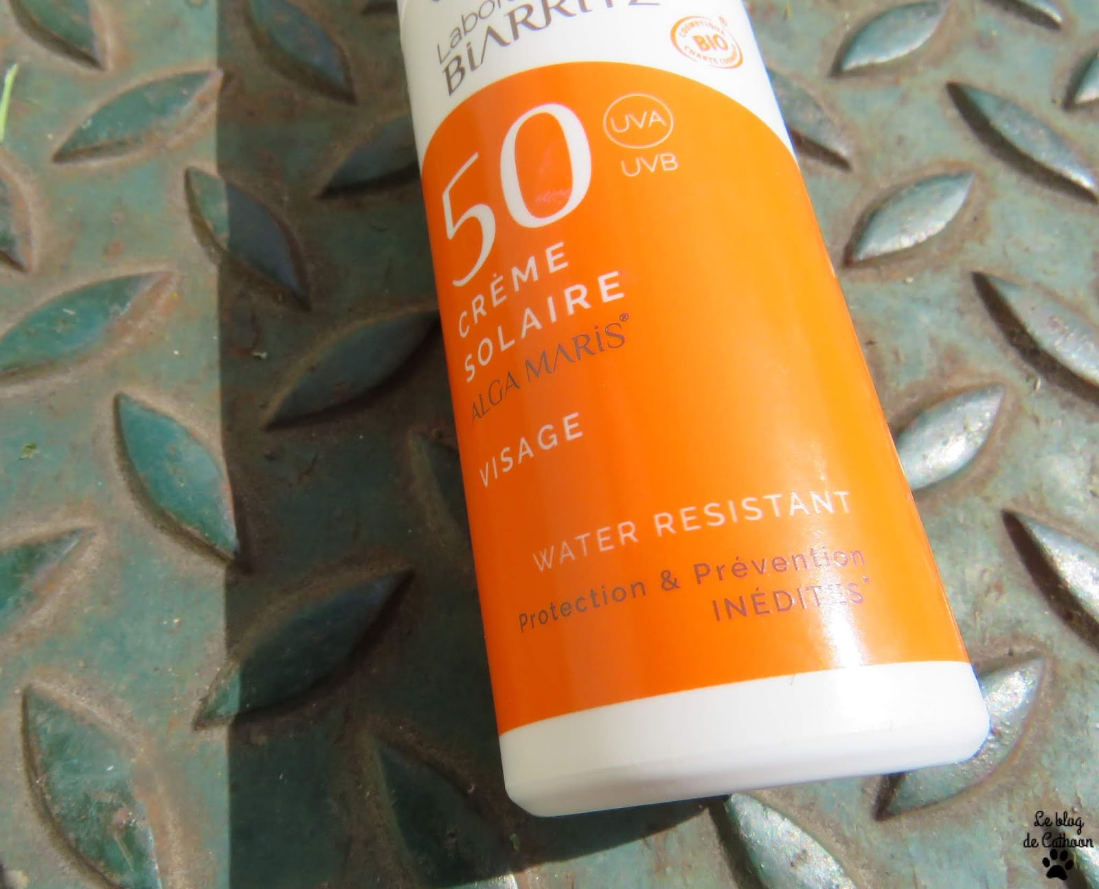 Crème Solaire 50 - Alga Maris - Laboratoires de Biarritz
