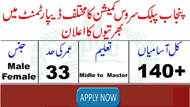 PPSC New Jobs 2019 Punjab Public Service Commission Jobs 2019