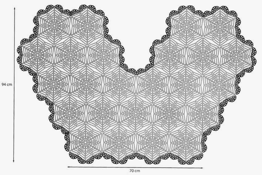 Crochet Shawls Crochet Cape Beautiful Crochet Lace Hexagon Motif