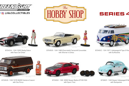 Greenlight Hobby Shop Series 4