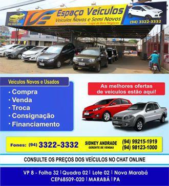 ESPAÇO VEÍCULOS -- MARABÁ/PA
