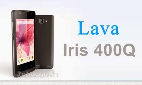 Lava Iris 400Q: 4-inch, 1.2 GHz Quad Core, 1 GB RAM, Android KitKat Phone