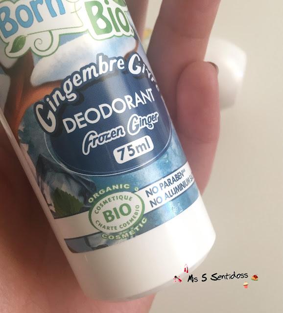 Born to bio, desodorantes orgánicos