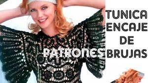Túnica Crochet En Encaje de Brujas / Patrones