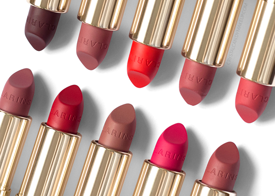 Clarins Joli Rouge Velvet Matte Lipsticks Review