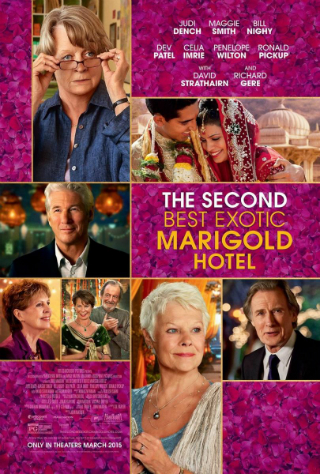 The Second Best Exotic Marigold Hotel [2015] [DVDR] [NTSC] [Latino]