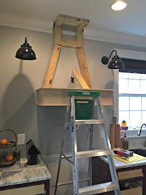 DIY wood vent hood