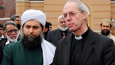 Welby and Muslim priest