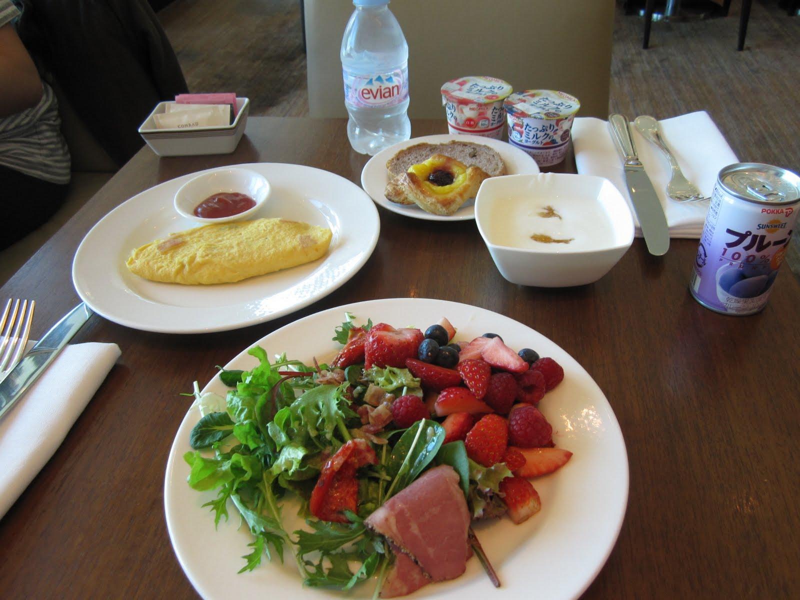 Travel Smart: [Tokyo] [Hotels] Conrad Tokyo - 東京港麗酒店 Executive Lounge
