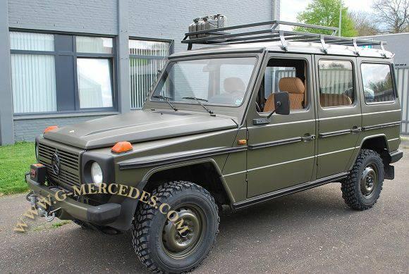 1982 Mercedes Benz G Class 300gd Military 4 Door G Wagon 25 750 For Sale