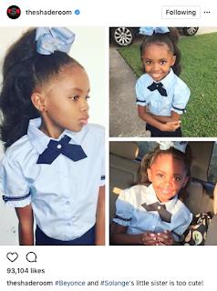 Beyonce Little Sister Koi Knowles