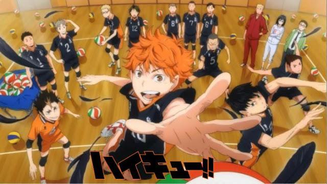Haikyuu - Daftar Anime Sport terbaik Sepanjang Masa