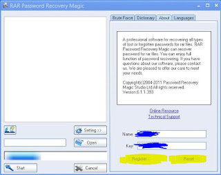 RAR Password Recovery Magic Keygen