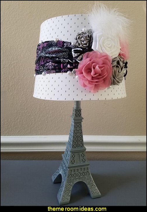 Paris lamp, Eiffel tower lamp  paris bedroom - Paris themed bedroom ideas - Paris style decorating ideas - Paris themed bedding - Paris style Pink Poodles bedroom decorating -  French theme Paris apartment furniture - Paris bedroom decor - decor Paris style French Poodles - room decor french poodle - french decor bedrooms - Paris Postcard bedding - Paris themed teenage bedroom ideas - Paris eiffel tower decor - decorating ideas for paris themed bedrooms - Paris Inspired Nursery - Paris bedrooms - Poodles in Paris