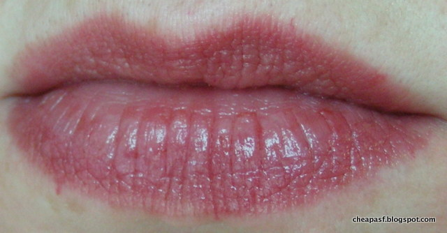 Swatch of Revlon Colorburst Lip Butter in Fig Jam