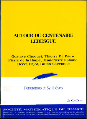 Panoramas et synthèses, N° 18/2005 - Autour du centenaire Lebesgue pdf
