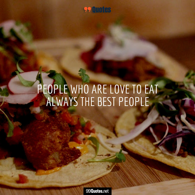 quotes about food lovers