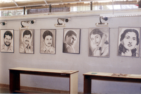 Exhibition of pencil drawings of 12 students nashikmaharashtraindia from 1st march 2013 to 3rd march 2013