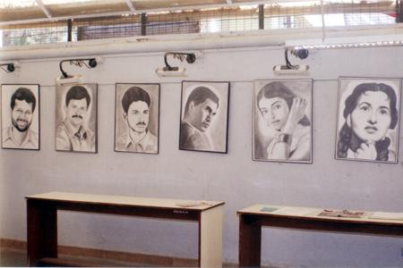 Pencil Sketches Exhibition