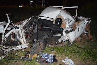 Acidente na Rodovia Assis Chateaubriand em Olímpia mata uma pessoa