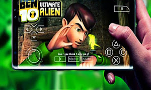 العاب بن 10 الخرافي PSP للاندرويد