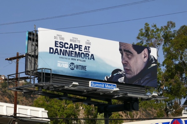 Escape at Dannemora limited series billboard