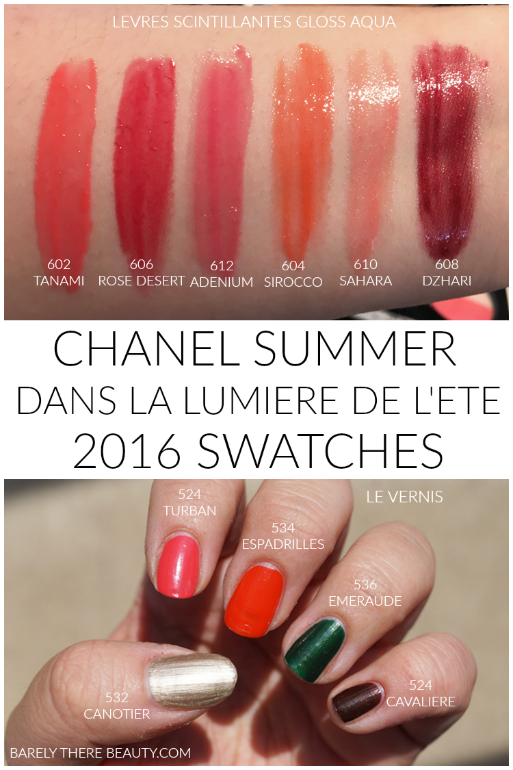 chanel-summer-2016-aqua-lipgloss-nail-polish-swatches