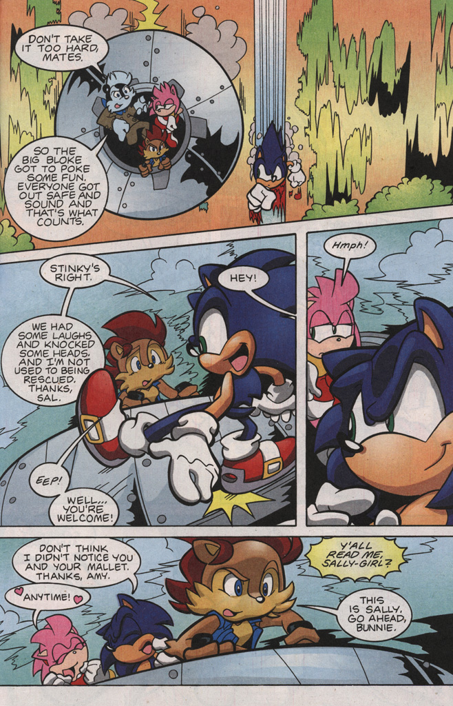 Read online Sonic The Hedgehog comic -  Issue #188 - 27