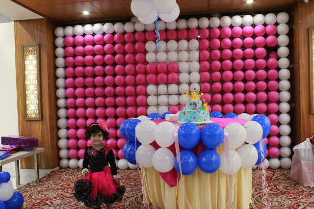 Theme party for little girls