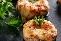 STUFFED MUSHROOMS EASY RECIPE