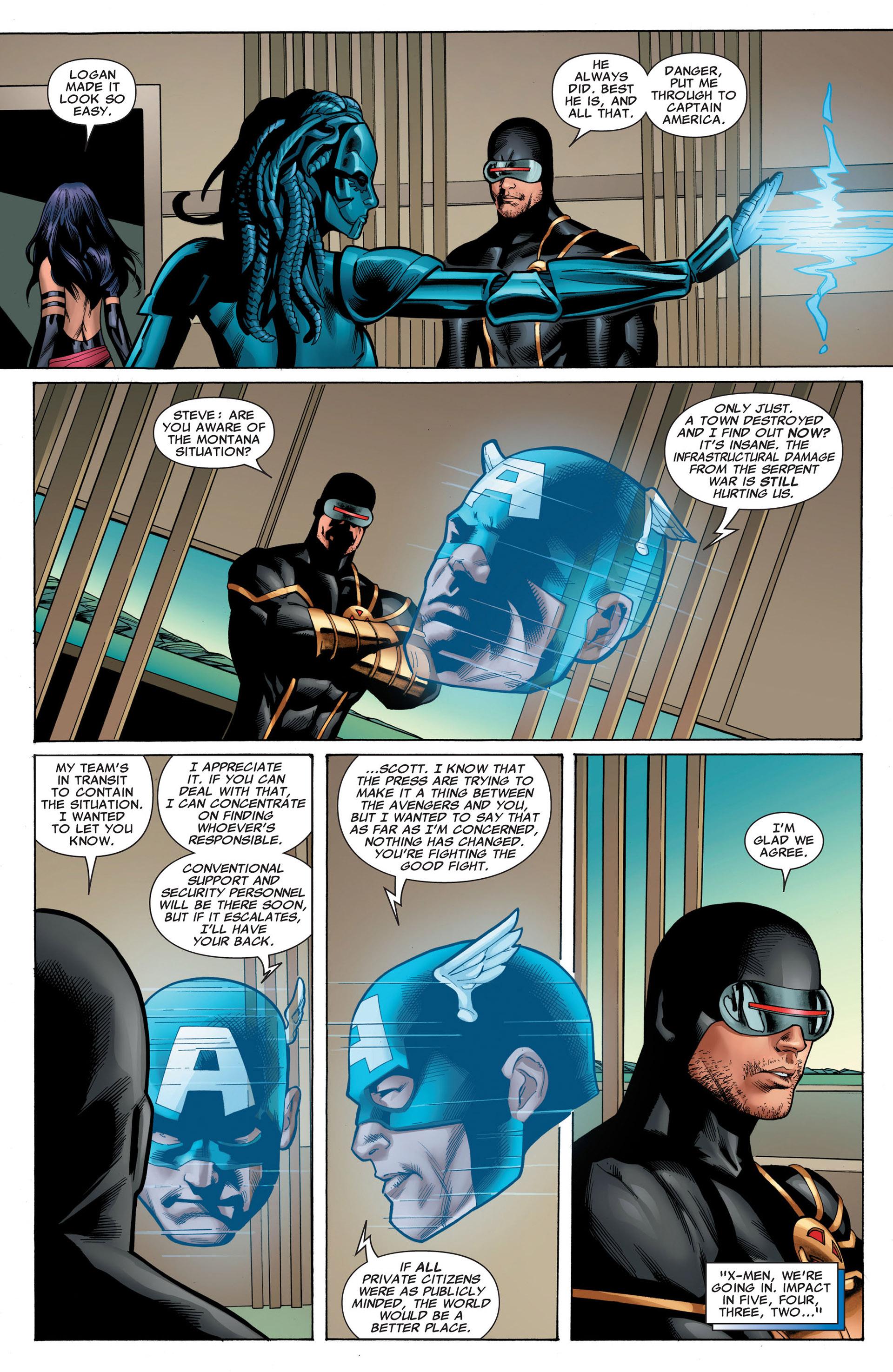 Read online Uncanny X-Men (2012) comic -  Issue #5 - 6