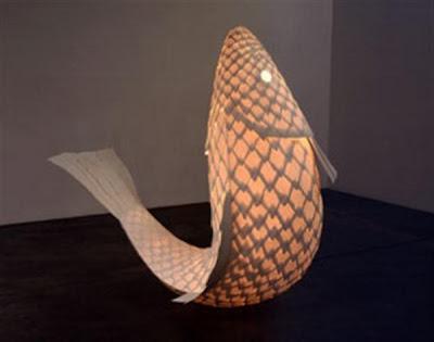 Diseño industrial de lampara única y divertida