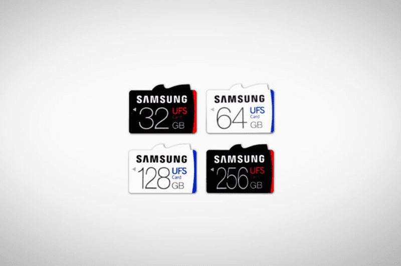 Samsung removable UFS memory card