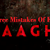 Check Out The Three Mistakes of Film Baaghi