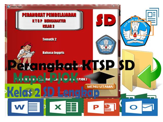 Perangkat KTSP SD Kelas 2 Mapel PJOK Format Words