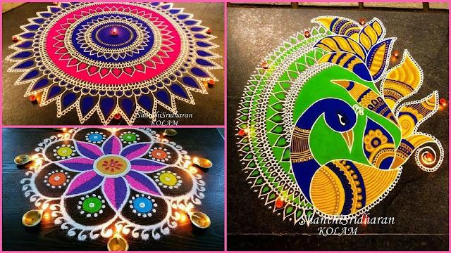 Best Deepawali Rangoli Designs