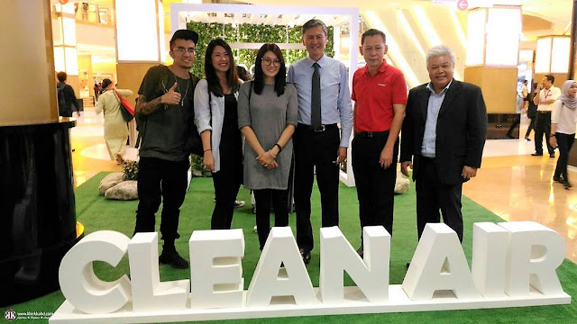 Clean Air - Smoke Free Environment Project, Sunway REIT,