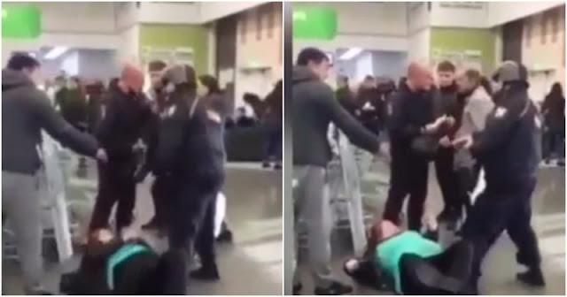 Беременную иркутянку избили и обвинили в нападении на росгвардейцев: видео (2 фото + 1 видео)