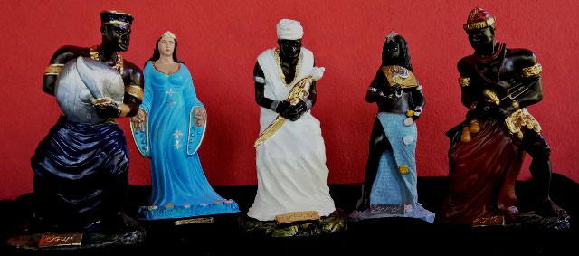 Orisa statues and Spiritual Consulting at Sacred Alchemy Store