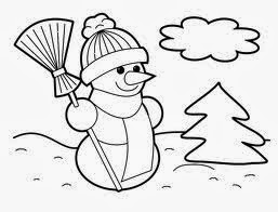 Christmas Colouring In Pages To Print 6
